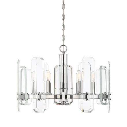 Savoy House Europe Harrow 6 Light Chandelier
