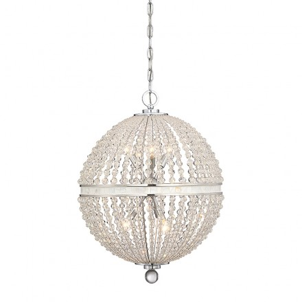 Savoy House Europe Bourne 9 Light Pendant