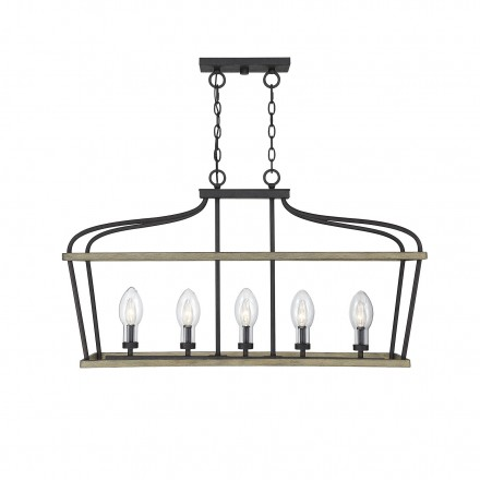 Savoy House Europe Danbury 5 Light Outdoor Chandelier