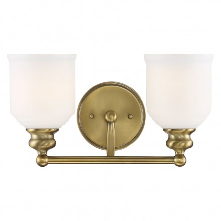 Savoy House Europe Melrose 2 Light Bath Bar