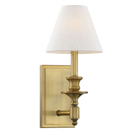 Savoy House Europe Washburn 1 Light Sconce
