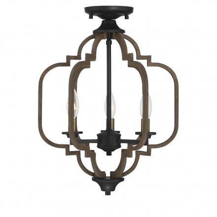 Savoy House Europe Westwood 3 Light Semi-Flush