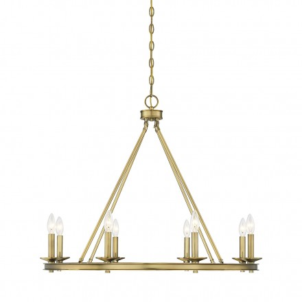 Savoy House Europe Middleton 8 Light Chandelier