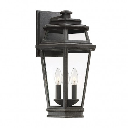 Savoy House Europe Holbrook 3 Light Outdoor Wall Lantern