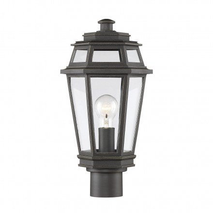 Savoy House Europe Holbrook 1 Light EPMM Outdoor Post Lantern