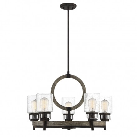 Savoy House Europe Hartman 5 Light Chandelier