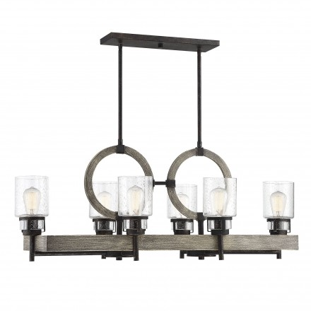 Savoy House Europe Hartman 6 Light Linear Chandelier