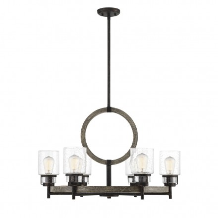 Savoy House Europe Hartman 6 Light Chandelier