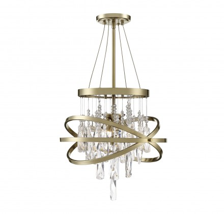Savoy House Europe Mannheim 3 Light Chandelier