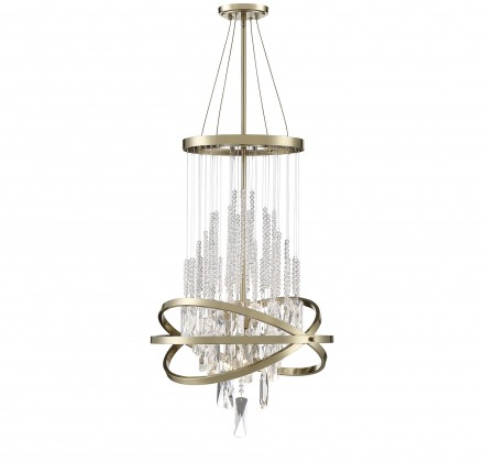 Savoy House Europe Mannheim 6 Light Chandelier