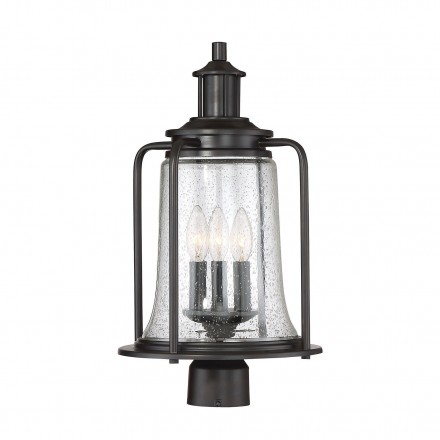 Savoy House Europe Tacoma 3 Light Outdoor Post Lantern