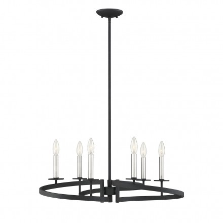 Savoy House Europe Monteray 6 Light Chandelier