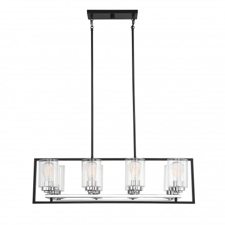 Savoy House Europe Redmond 8 Light Linear Chandelier