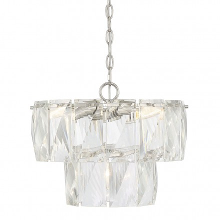 Savoy House Europe Turner 4 Light Chandelier