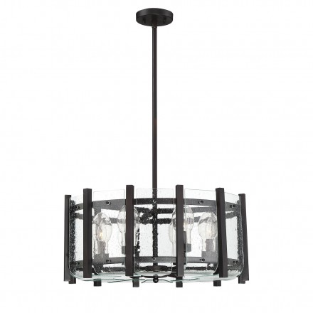 Savoy House Europe Racine 6 Light Outdoor Chandelier