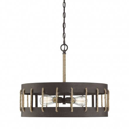 Savoy House Europe Leland 4 Light Pendant