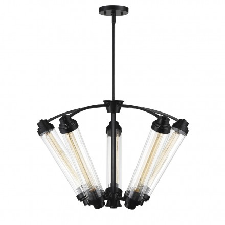 Savoy House Europe Pike 5 Light Bronze Chandelier