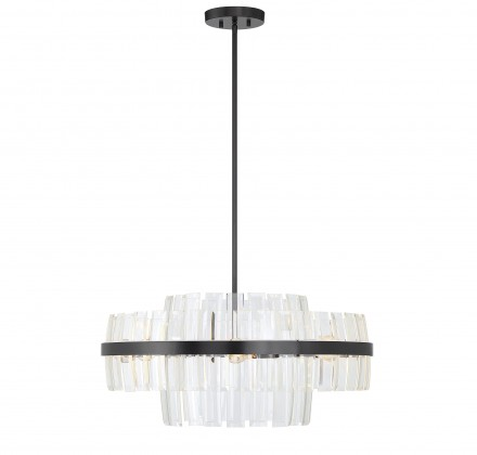 Savoy House Europe Hansen 6 Light Chandelier