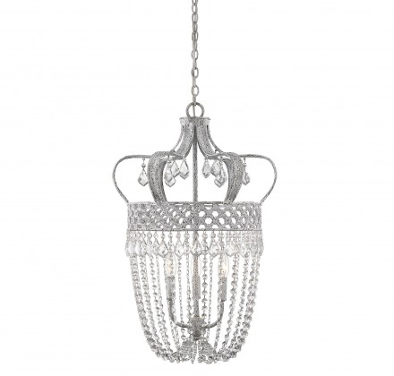 Savoy House Europe Rochelle 3 Light Crystal Pendant