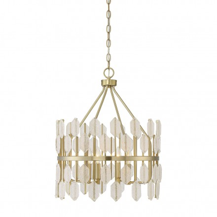 Savoy House Europe Royale 4 Light Pendant