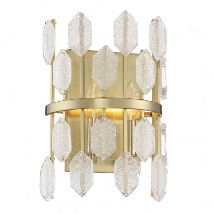 Savoy House Europe Royale 2 Light Wall Sconce