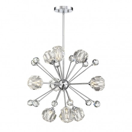 Savoy House Europe Urbain 9 Light Pendant