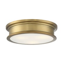 Savoy House Europe Watkins Warm Brass Flush Mount