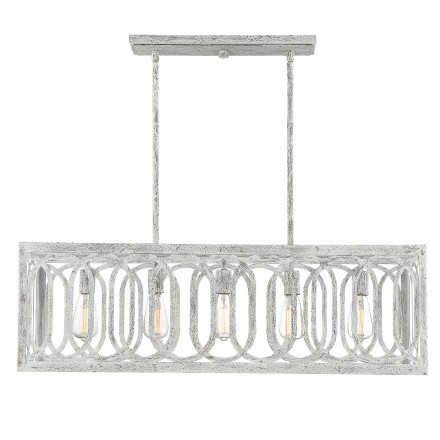 Savoy House Europe Westbrook 5 Light Linear Chandelier
