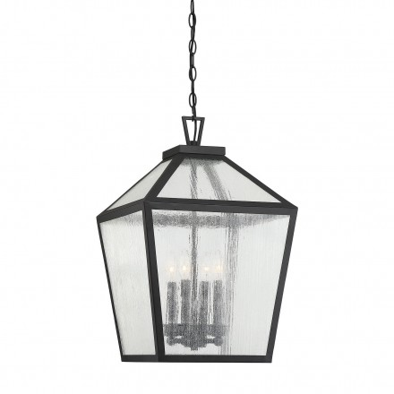 Savoy House Europe Woodstock 4 Light Outdoor Hanging Lantern