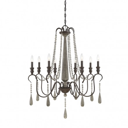 Savoy House Europe Kenwood 8 Light Chandelier