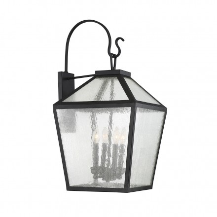Savoy House Europe Woodstock 4 Light Outdoor Wall Lantern