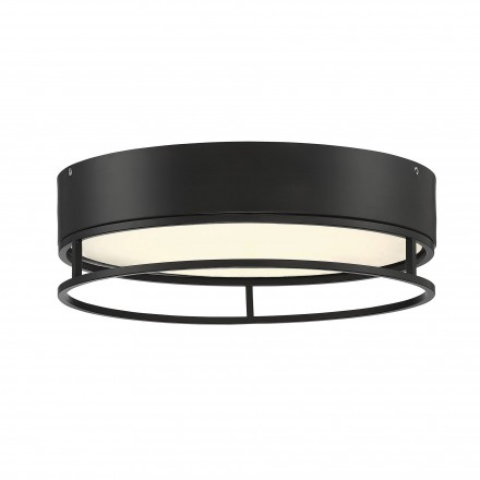 Savoy House Europe Creswell English Bronze Oval LED Flush Mount