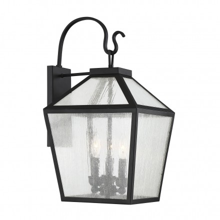 Savoy House Europe Woodstock 3 Light Outdoor Wall Lantern
