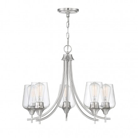 Savoy House Europe Octave 5 Light Chandelier