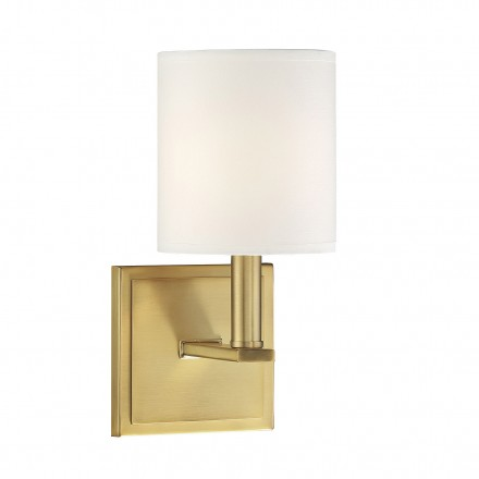 Savoy House Europe Waverly Warm Brass Sconce
