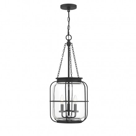 Savoy House Europe Magnum 3 Light Matte Black Pendant