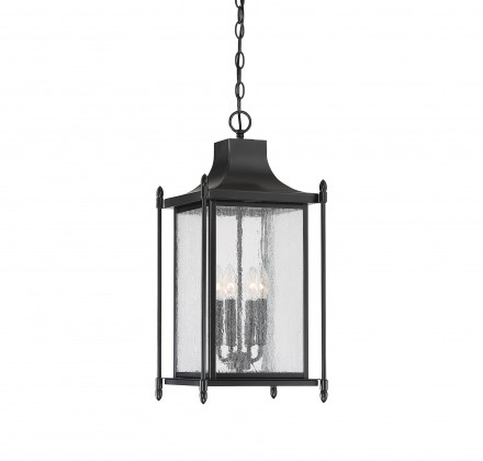 Savoy House Europe Dunnmore Black Hanging Lantern