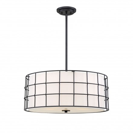 Savoy House Europe Hayden 5 Lights Black Pendant