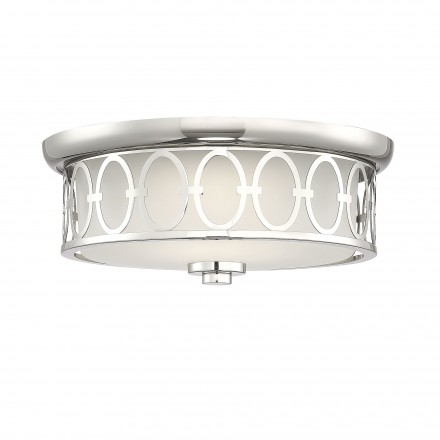 Savoy House Europe Sherrill Polished Nickel LED Flush Mount