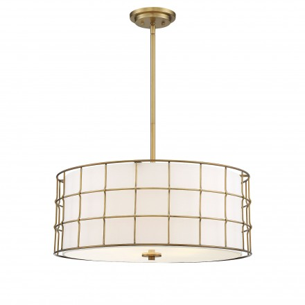 Savoy House Europe Hayden 5 Lights Warm Brass Pendant