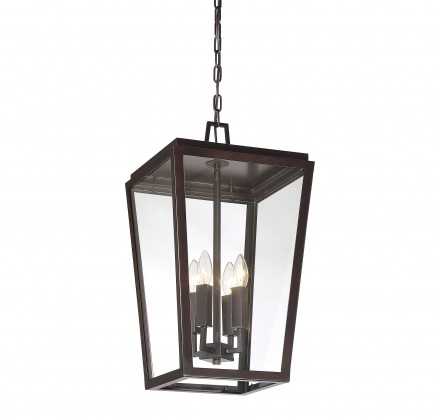 Savoy House Europe Milton English Bronze Hanging Lantern