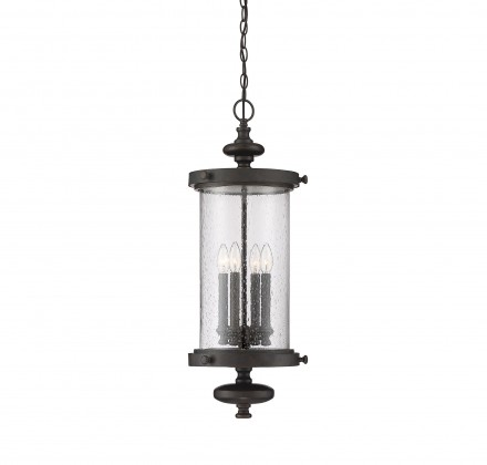 Savoy House Europe Palmer Walnut Patina Hanging Lantern
