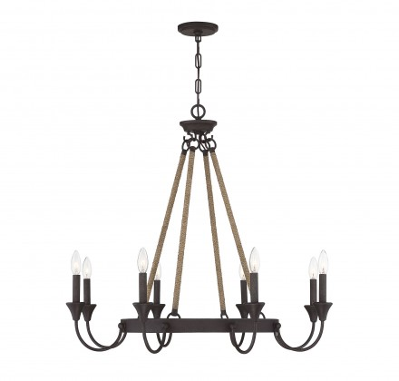 Savoy House Europe Sienna 8 Light Chandelier
