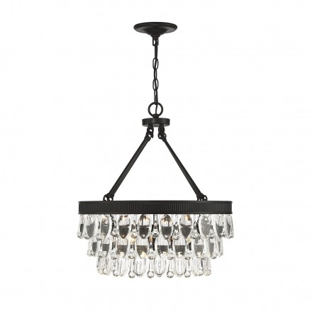 Savoy House Europe Windham 4 Light English Bronze Pendant