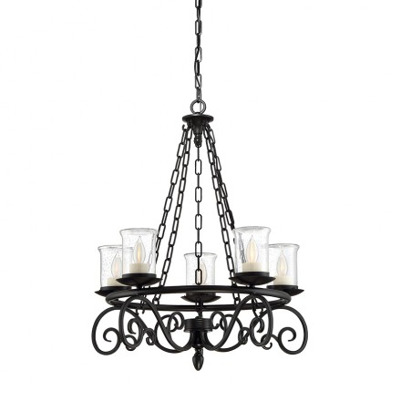 Savoy House Europe Welch 5 Light Outdoor Chandelier