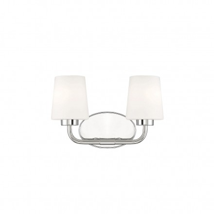 Savoy House Europe Capra Polished Nickel 2 Light Bath
