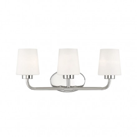 Savoy House Europe Capra Polished Nickel 3 Light Bath