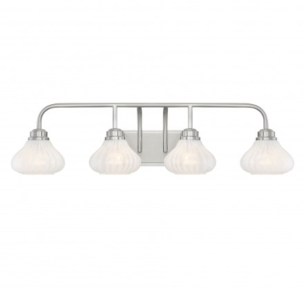 Savoy House Europe Darlington Satin Nickel 4 Light Bath