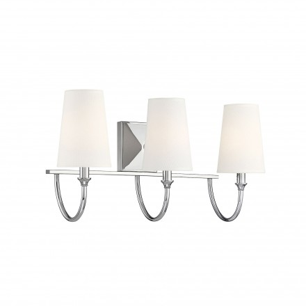Savoy House Europe Cameron Polished Nickel 3 Light Bath