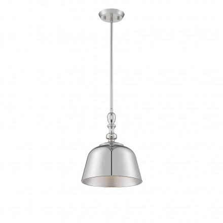 Savoy House Europe Berg Polished Nickel 1 Light Pendant